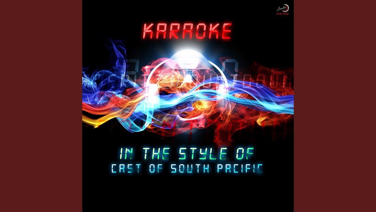 You've Got to Be Carefully Taught (Karaoke Version) - YouTube