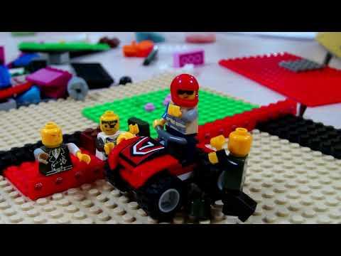 Лего атака зомби