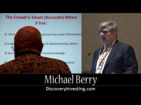 Michael Berry   The Wisdom of the Discovery Crowd 2012 California Resource Investment Conference