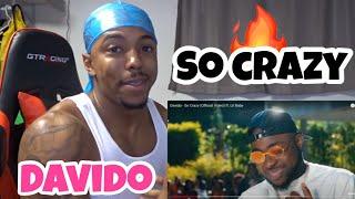 Davido - So Crazy ft. Lil Baby (Official Video) REACTION!!! cмотреть видео онлайн бесплатно в высоком качестве - HDVIDEO