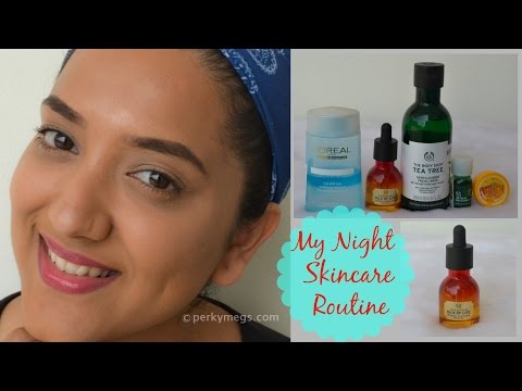 Night Time Skin Care routine | Indian skin care | Perkymegs