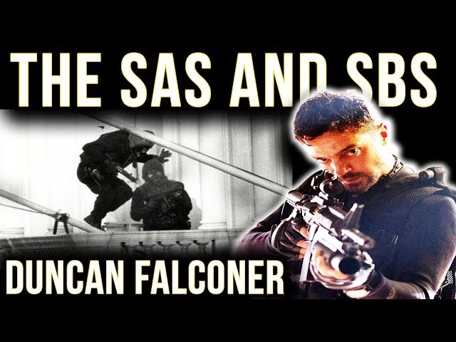 The SBS & SAS | Special Boat Service Legend Duncan Falconer | Special Air Service