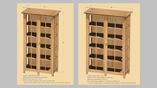 Making Display Cabinets Part 4; Andrew Pitts~furnituremaker