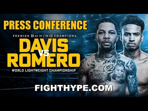 Download GERVONTA DAVIS VS. ROLLY ROMERO HEATED KICKOFF PRESS CONFERENCE & FIRST FACE OFF