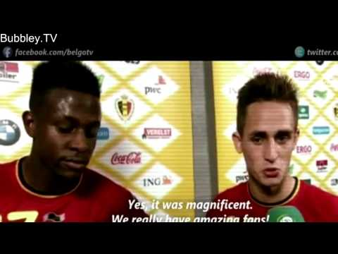 Adnan Januzaj Individual Highlights   International Debut   Belgium vs Luxembourg 5 1   HD