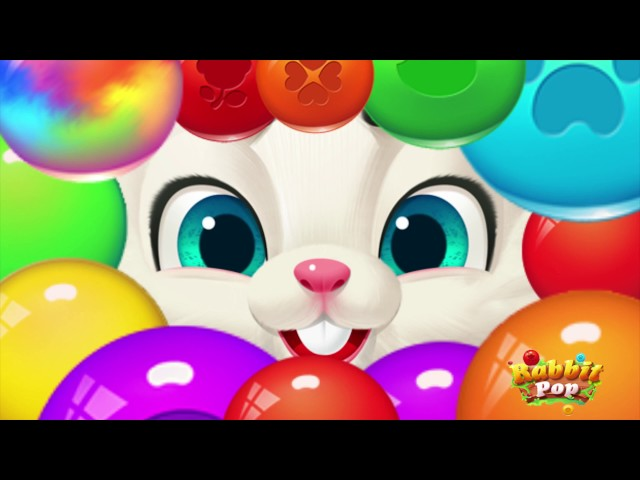 Rabbit Pop-Bubble Shooter(Free game on Google Play Store)