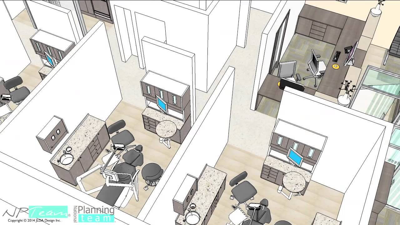 5 Operatory Rooms Dental Clinic By NPTeam