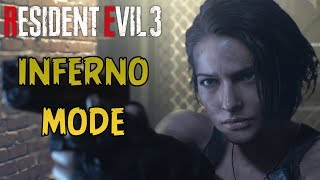 Resident Evil 3 Remake - Inferno Mode (Hardest Difficulty)