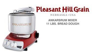 Ankarsrum Mixer Large Batch: 11 lbs. Whole Wheat Bread Dough