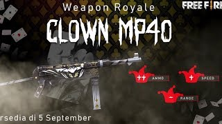 Free fire new weapon royal || mp40new weapon royal||freefire new update