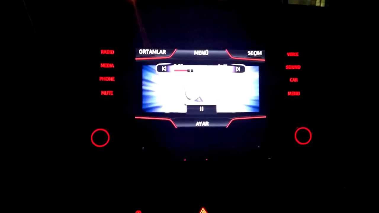 seat leon 5f media system plus ipod video play part 2 youtube. Black Bedroom Furniture Sets. Home Design Ideas