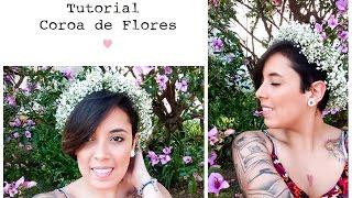 Tutorial - Coroa de Flores por R$ 10,00