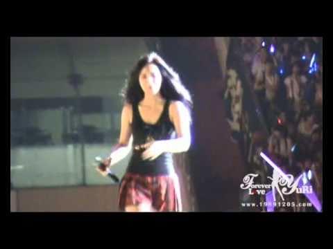 [Fancam] 100911 Yuri SNSD - Hahaha @ SM TOWN 2010 Shanghai