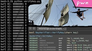 Reversing Custom Encoding (Keygen part 2) - Pwn Adventure 3
