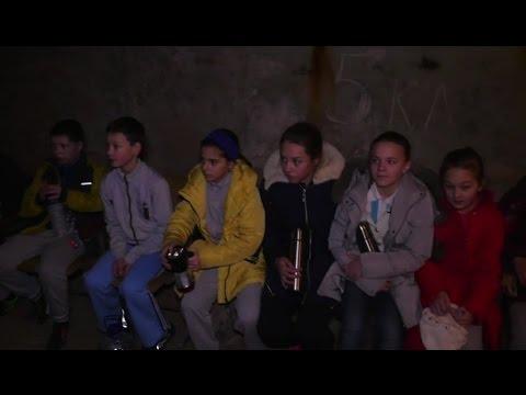 Видео, FAZ Марьинка. Дети, школа, война