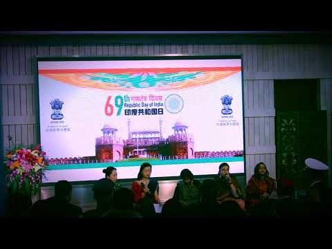 69th Indian Republic day program Indian Embassy Beijing 2018
