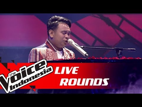 King - How Deep Is Your Love (Bee Gees) | Live Rounds | The Voice Indonesia GTV 2019