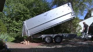 Produktfilm Vorteile PKW-Anhänger beim Brennholzhandel