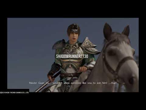 Dynasty Warriors 9 - Zhou Cang Meets Zhao Yun (Chinese Dub)