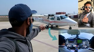 Flying in a PRIVATE JET | India's FIRST AIRTAXI EVER | Hisar to Dharamshala