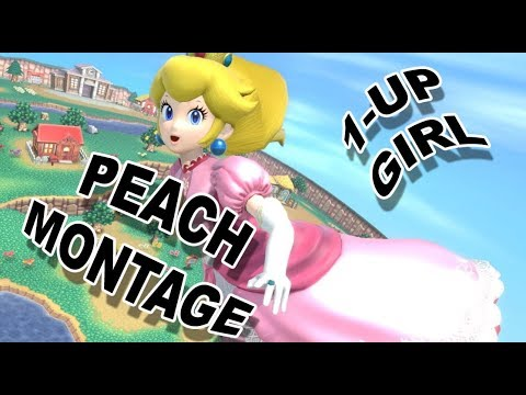 1-UP Girl [Peach Montage]