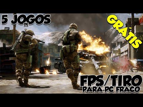 5 Jogos De FPS/Tiro Grátis Online Para Pc Fraco '1 (Download) |Pc Fraco