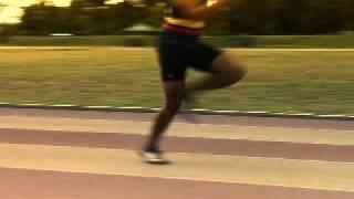 Carrera de relevos - La zancada