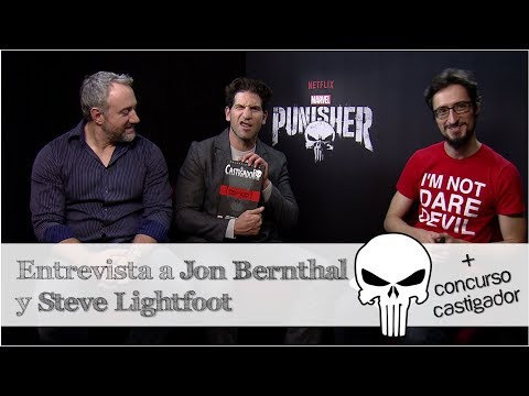Punisher | Entrevista a Jon Bernthal y Steve Lightfoot | + Concurso