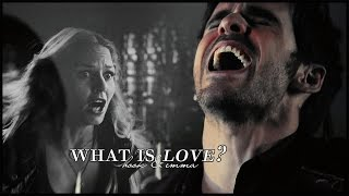 what is love?   hook & emma