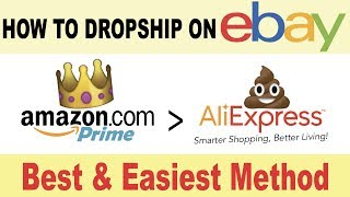 the best way to dropship on ebay easiest method