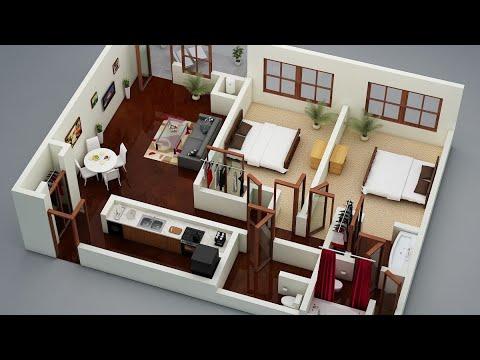 2bhk latest modern house plan design ideas 2019 3d 2bhk house2bhk latest modern house plan design ideas 2019 3d 2bhk house plans