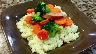 Kielbasa Stir Fry With Couscous By Joni