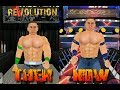 Wrestling Revolution 3D Then vs Now (Real vs Mod)
