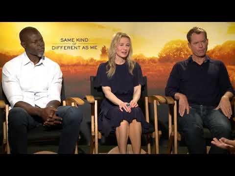 Renee Zellweger, Greg Kinnear, Djimon Hounsou Same Kind of Different as Me Interview