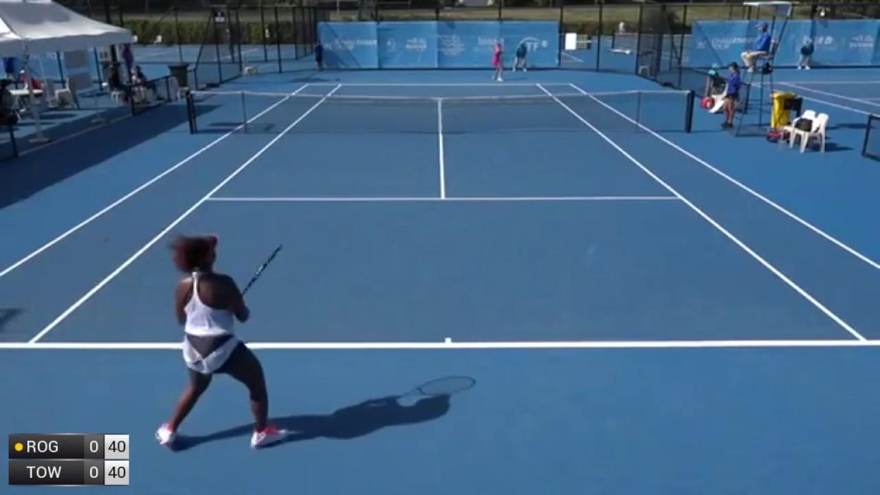 Rogowska Olivia v Townsend Taylor - 2017 ITF Burnie - YouTube