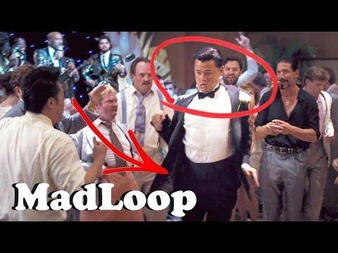 MadLoop - Leonardo DiCaprio Dance - I Like Big... Dances with Wolves (WALL STREET CLIP)