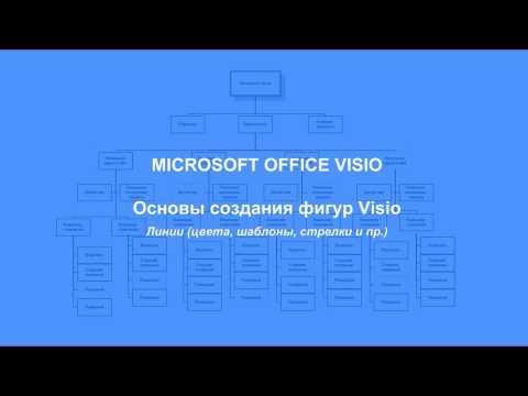 Видеоуроки visio 2010