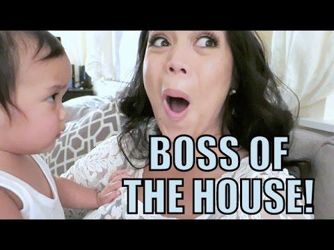 THE BOSS OF THE HOUSE! - October 29, 2015 -  ItsJudysLife Vlogs