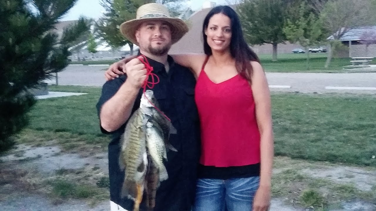 Bank fishing crappie perch bass making new friends on for Brownlee reservoir fishing report