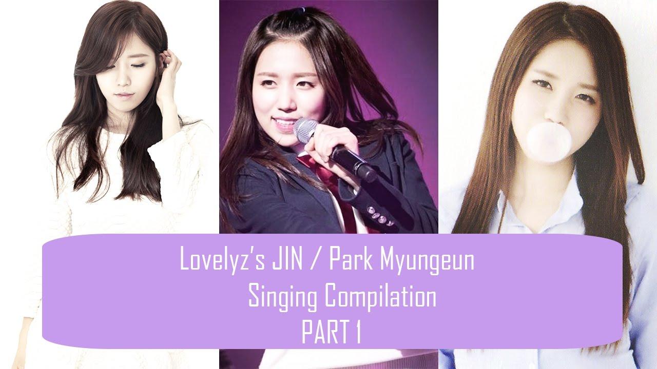 Lovelyz39s Jin Park Myungeun Singing