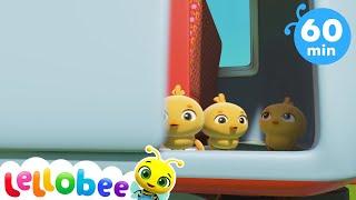 5 Little Ducks + More Nursery Rhymes & Kids Songs - Little Baby Bum ABC Kids