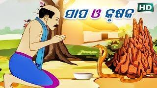 SAPA O KRUSHAKA (ଆଈ ମା କାହାଣୀ ସିରିଜ୍) Aaima Kahani Series | Cartoon Movie by Sarthak Music