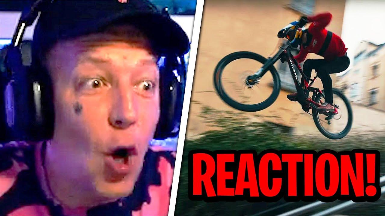 BEEINDRUCKEND!😱 REAKTION auf Fabio Wibmer! | Urban Freeride Lives 3 | MontanaBlack Reaktion