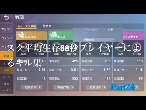 TPS初心者による荒野行動キル集Part24