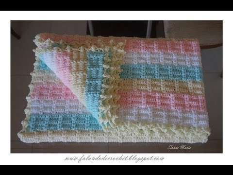Crochet Patterns| for free |lacy baby blanket crochet pattern| 1221