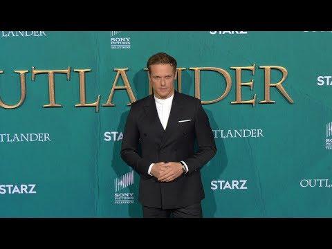 "Sam Heughan STARZ ""Outlander"" Season 5 World Premiere Red Carpet"
