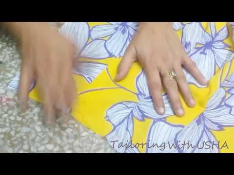 Jenn'ys Forum -  Cutting And Stitching Of Printed Pallazo   Tailoring With Usha