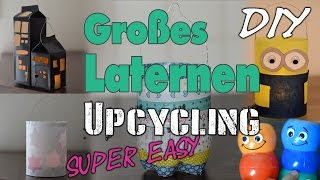 Großes Laternen Upcycling | Easy - Last Minute - Low Budget | Lantern | DIY | mamiblock