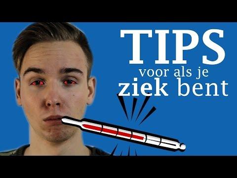 10 TIPS VOOR ALS JE ZIEK BENT!
