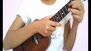 How to play Speak Now by Taylor Swift on Ukulele - cza